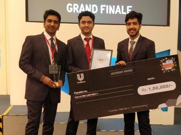 1st Prize Big Brand Competition Hindustan Unilever