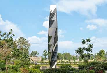 7 Acre Campus Located in the corporate hub of Gurgaon